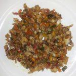 Dinner for foodies :-) ... Tilapia hash. #cleaneating #healthyliving #poweringdown